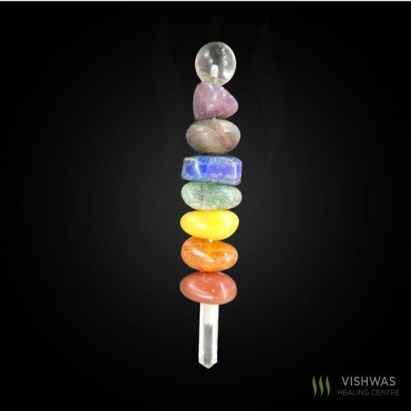 seven chakra wand
