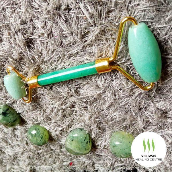 jade facial roller crystal